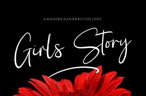 Girl Story Font