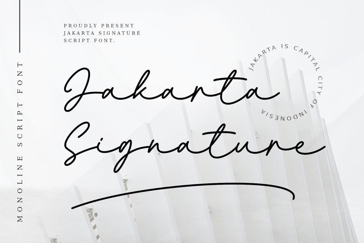 Jakarta-Font