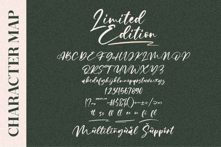 Limited-Edition-Font-3