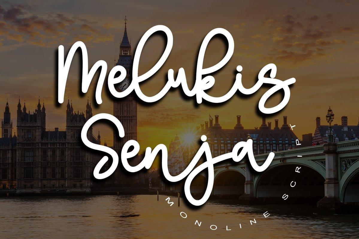 Melukis-Senja-Font