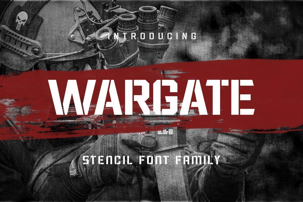 Wargate-Font