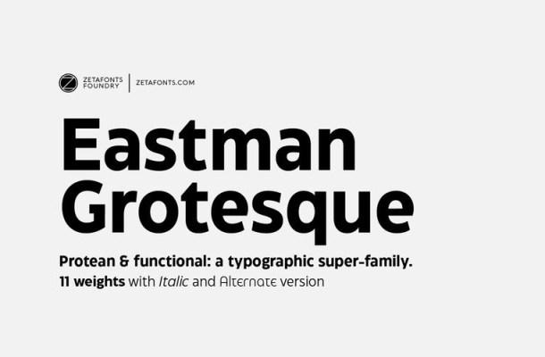 Eastman Grotesque Font
