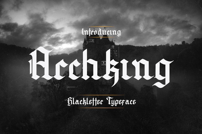 Archking-Font