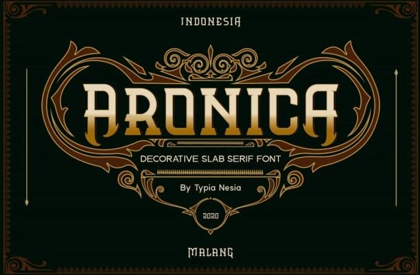 Aronica-Font