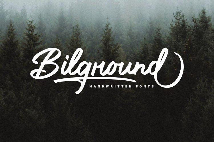 Bilground-Font