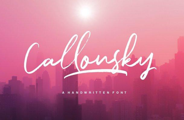 Callonsky Font
