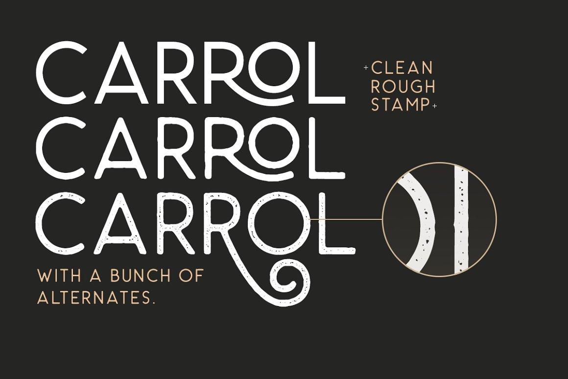 Carrol-Wild-Font-2