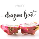 Dragon Fruit Font