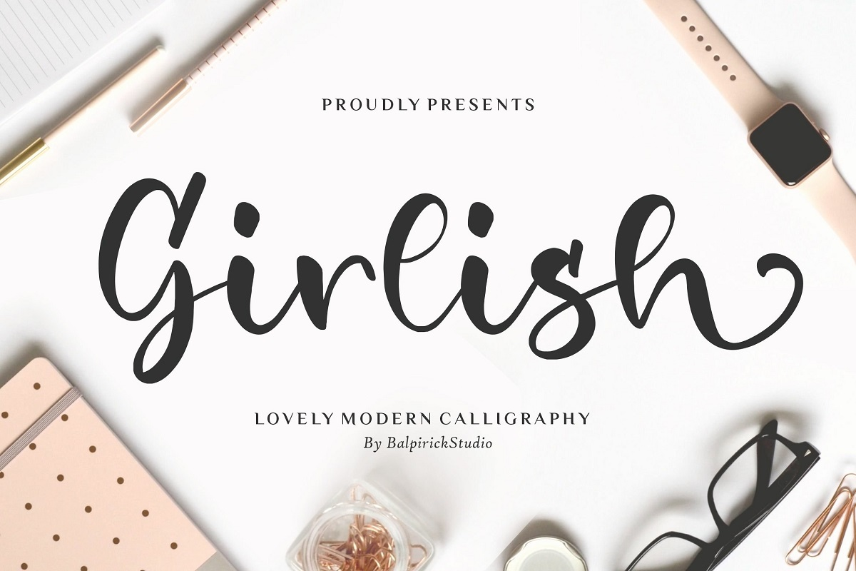 Girlish-Font
