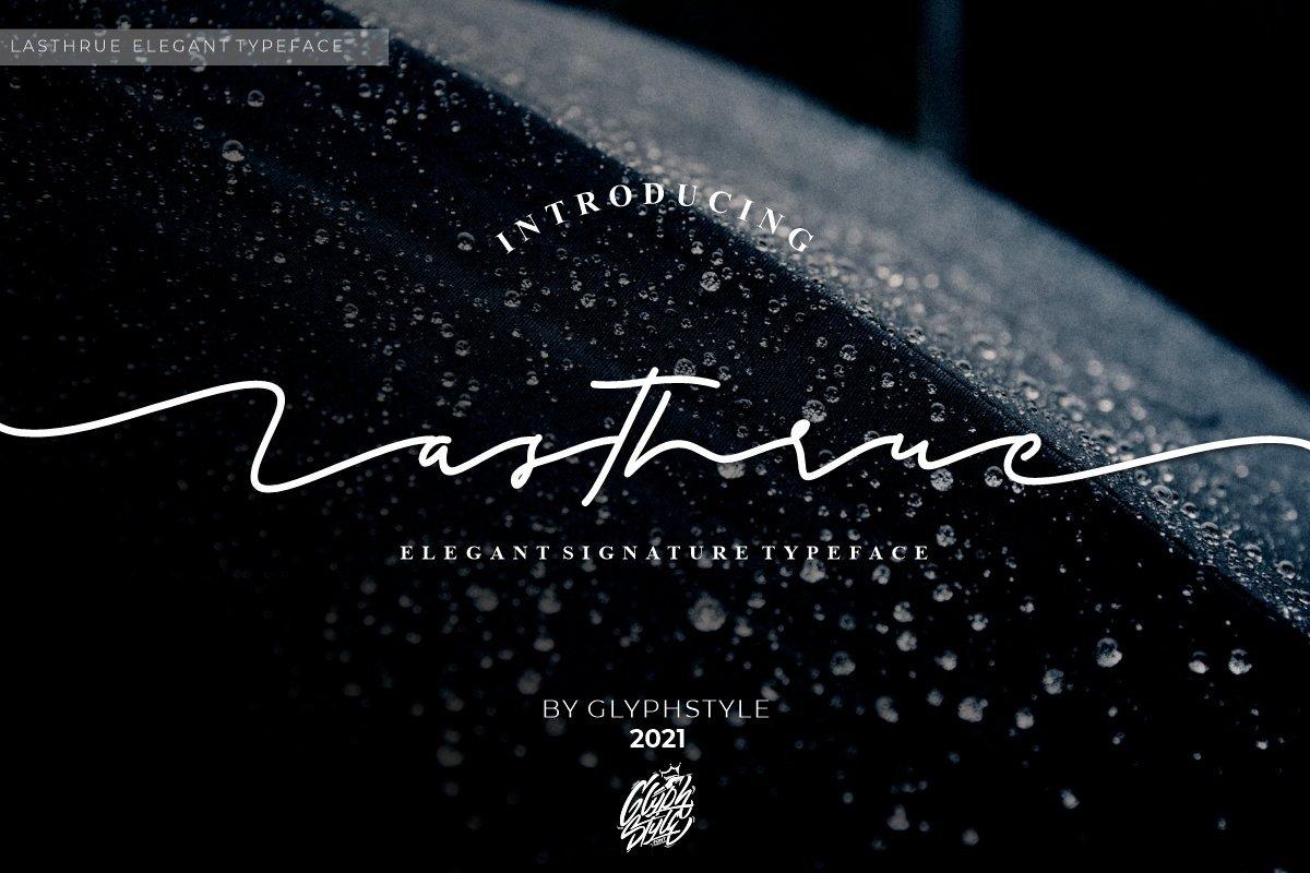 Lasthrue-Font