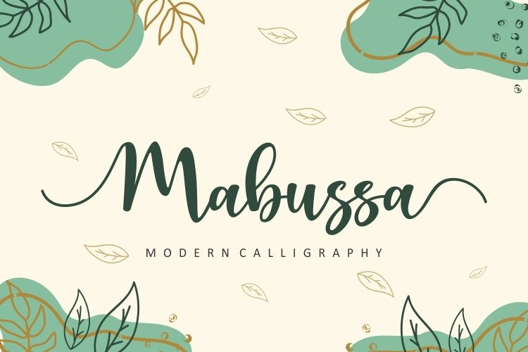Mabussa-Font