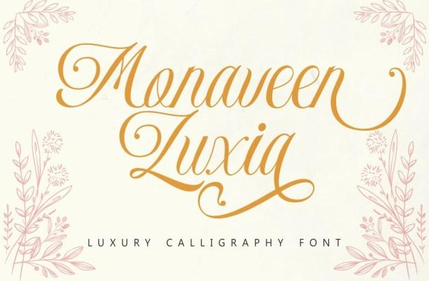 Monaveen Luxia Font