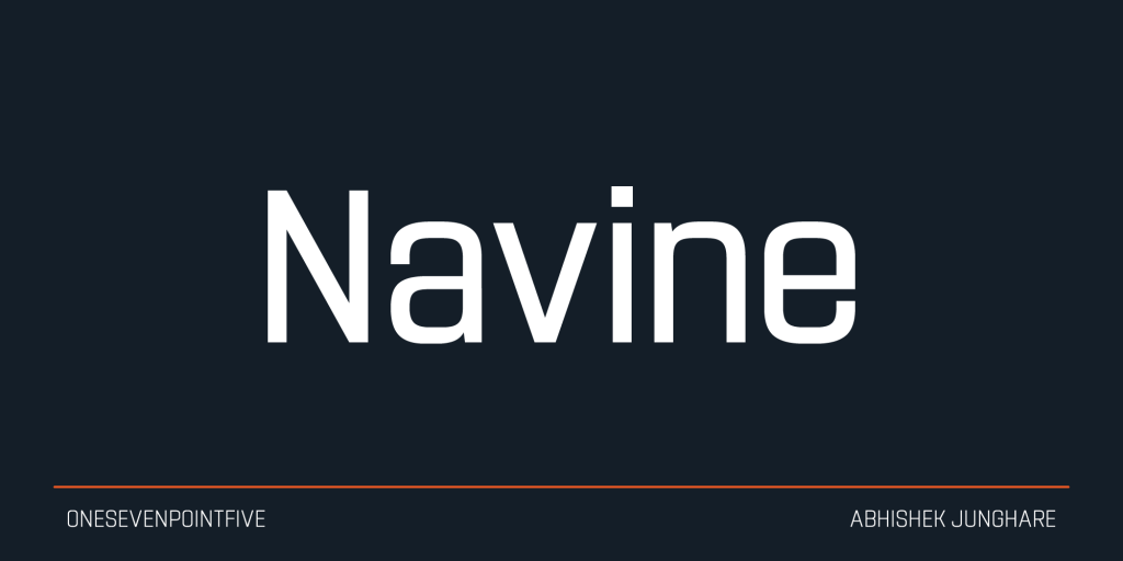 Navine-Font
