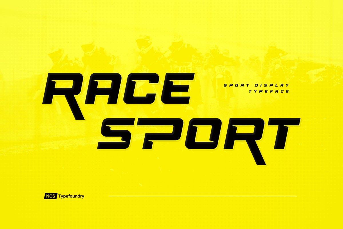 Race-Sport-Font