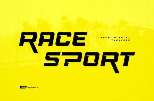 Race Sport Font