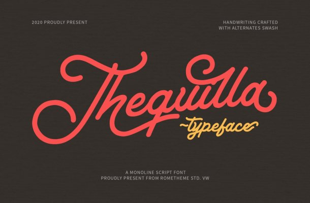Thequilla-Font