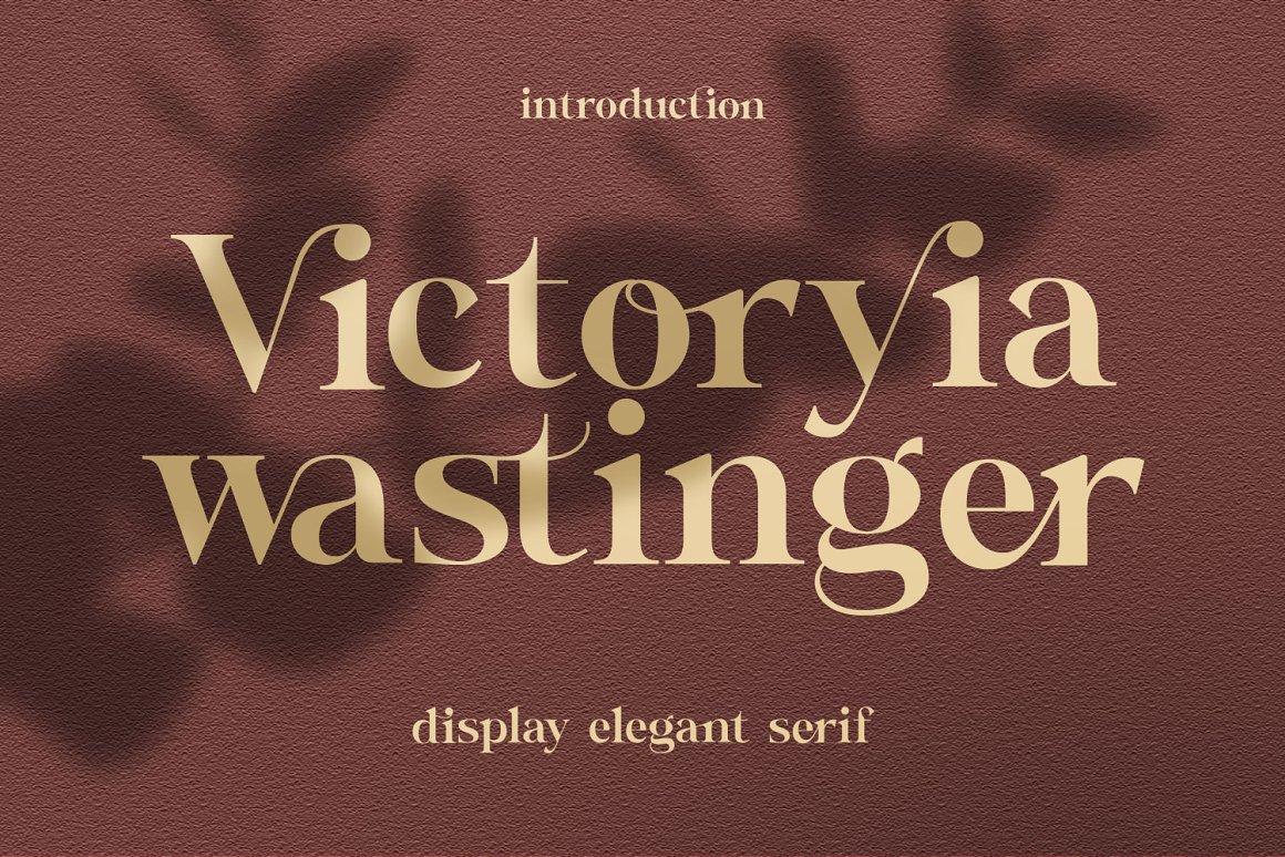 Wastinger-Font