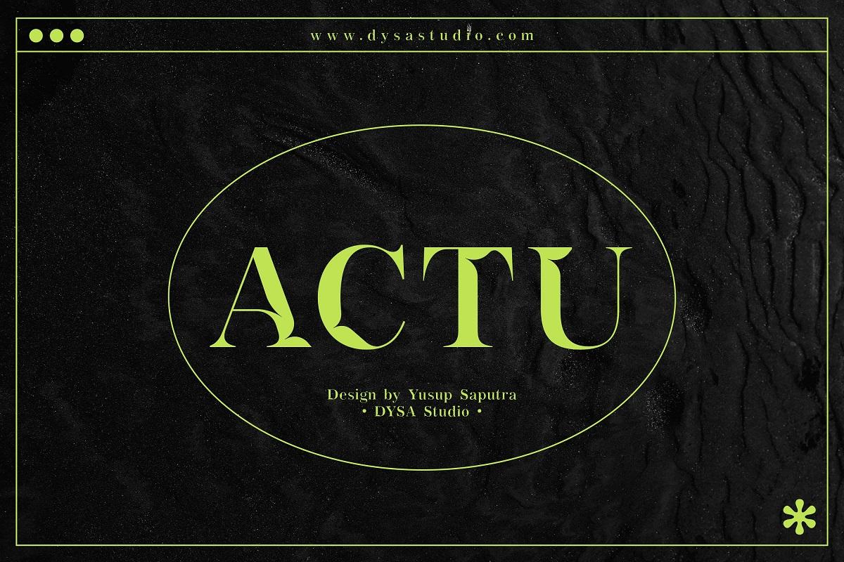 Actu-Font