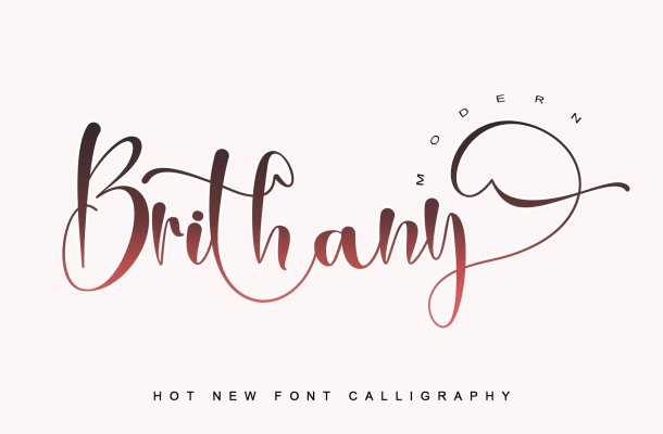 Brithany-Font