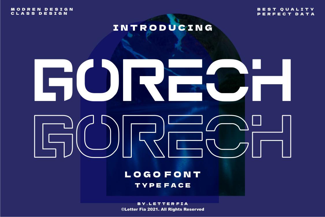 Gorech-Font