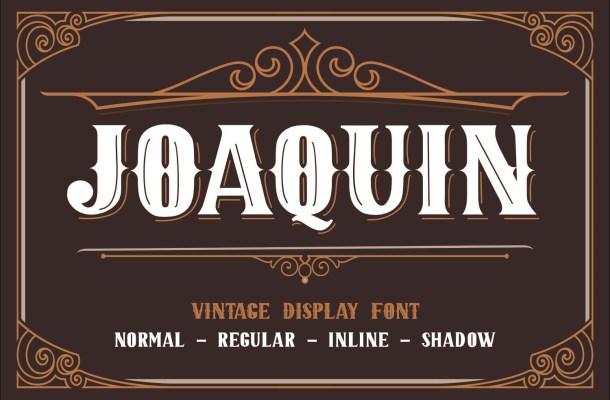 JOAQUIN-Font