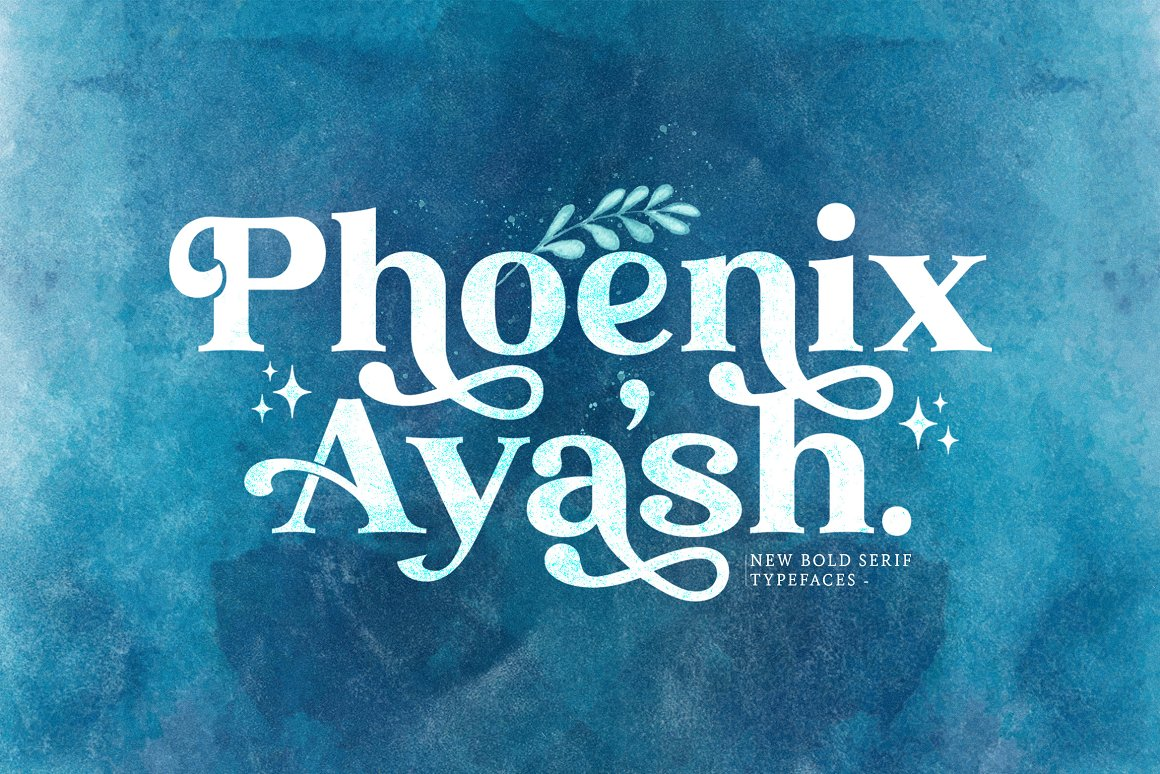 Phoenix-Ayash-Font