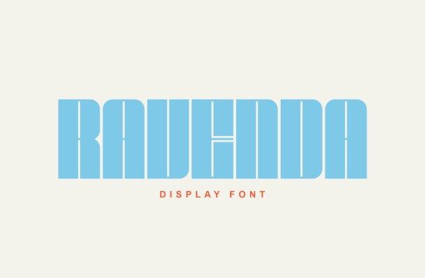 Ravenda-Font