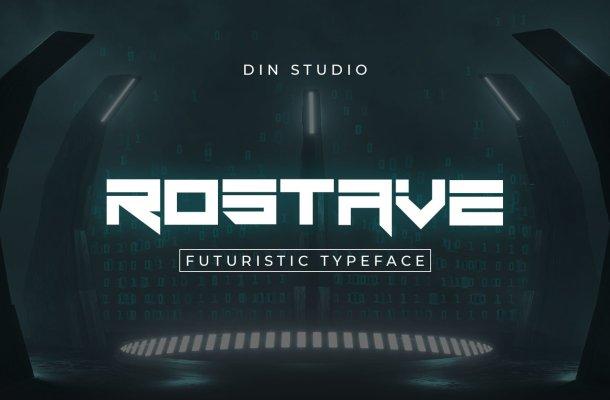 Rostave-Font
