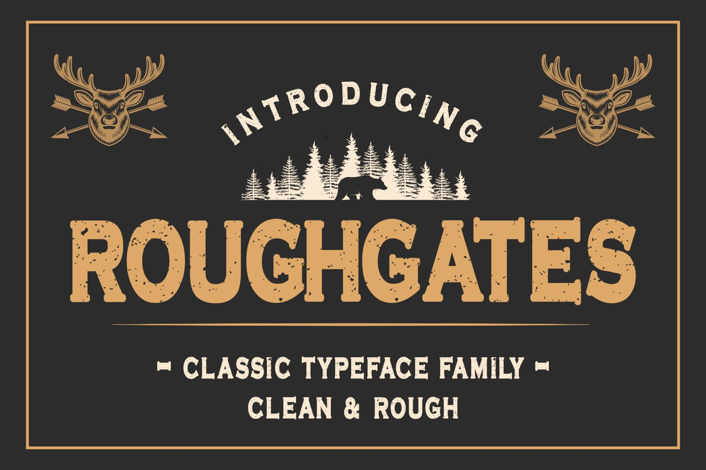 Roughgates-Font