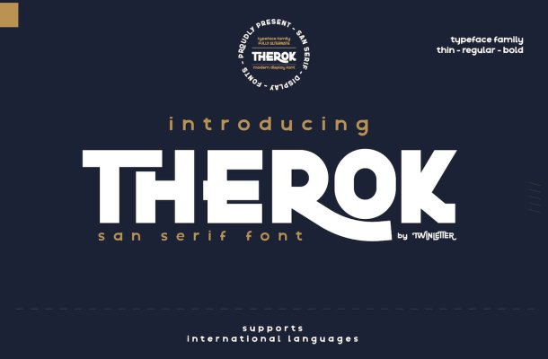 Therok Font