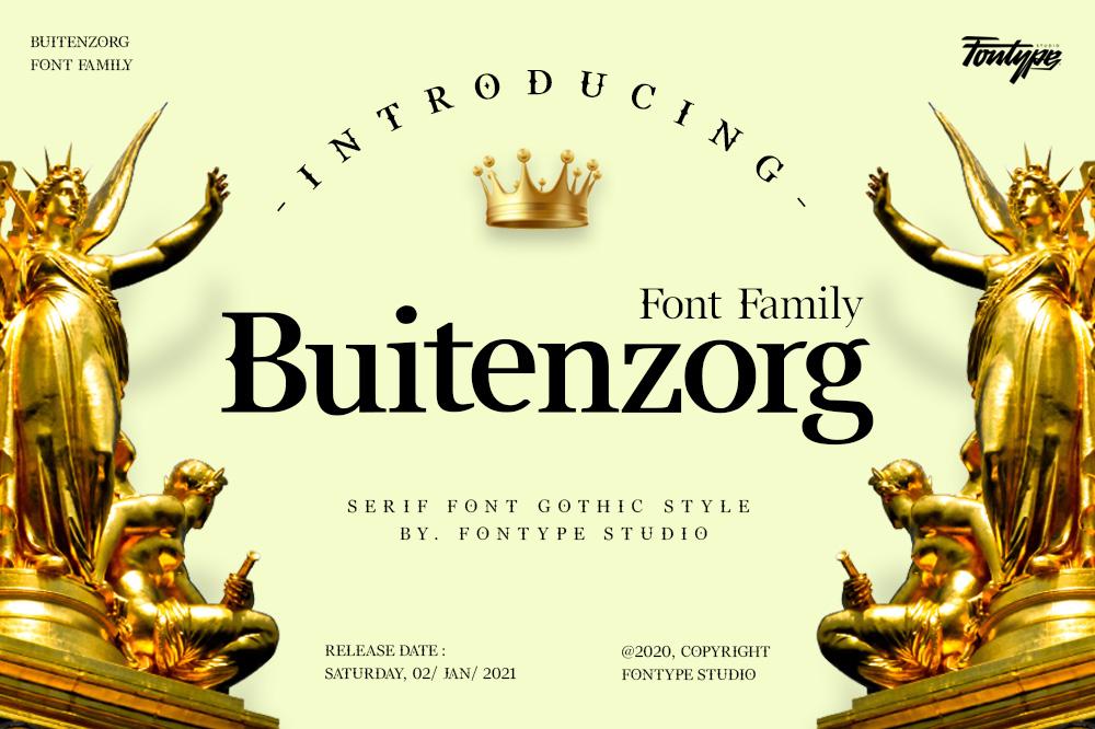 Buitenzorg-Font
