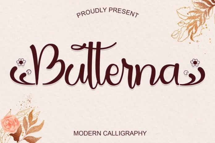 Butterna-Font