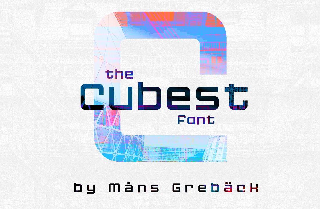 Cubest-Font