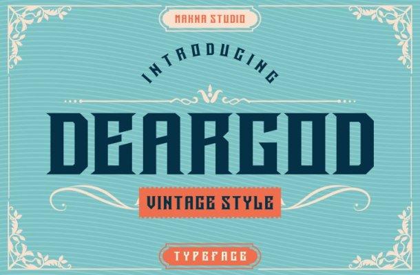Deargod-Font