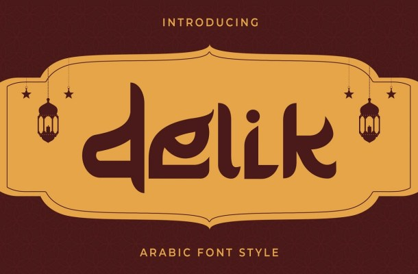 Delik-Font