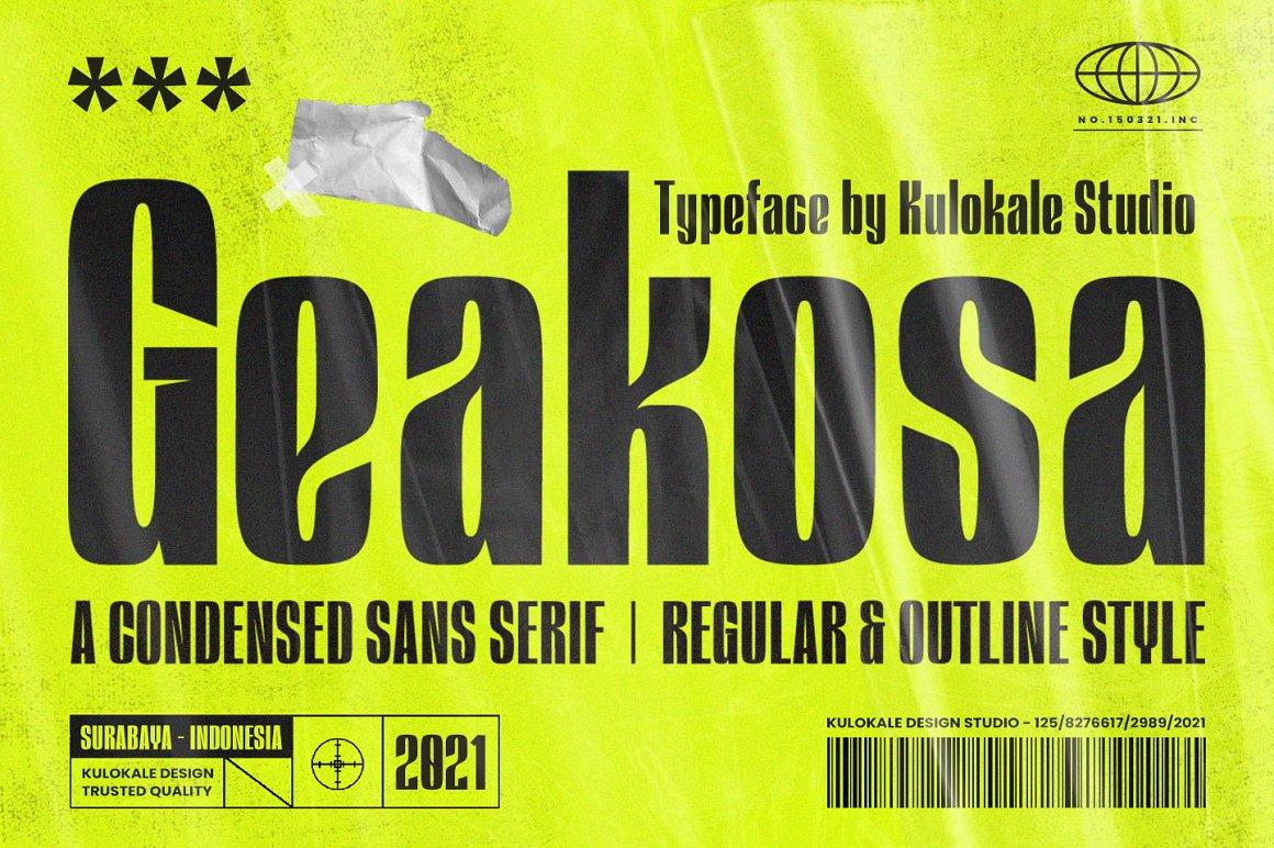 Geakosa-Font
