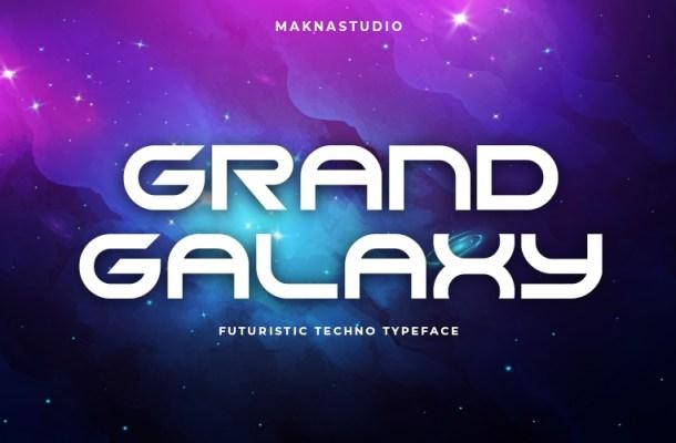 Grand Galaxy Font