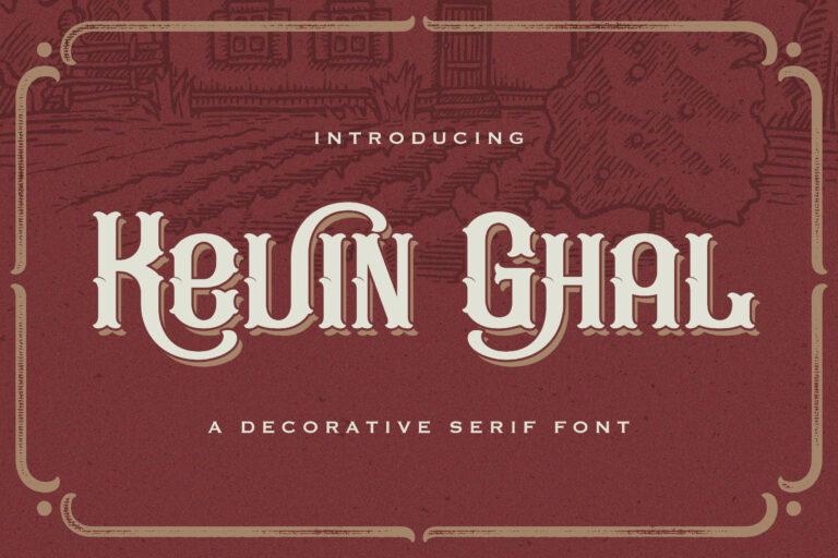 Kevin-Ghal-Font