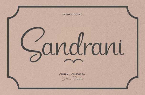 Sandrani-Font