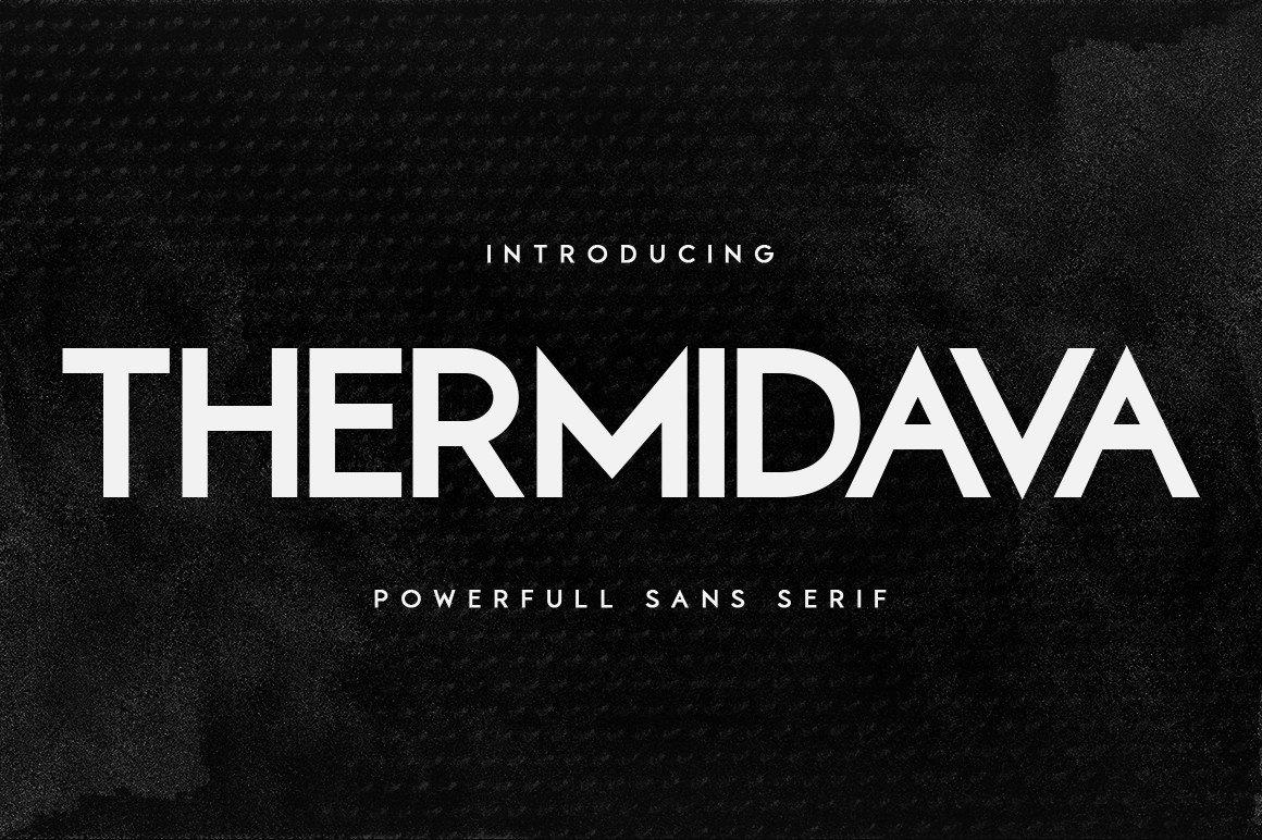 Thermindava-Font