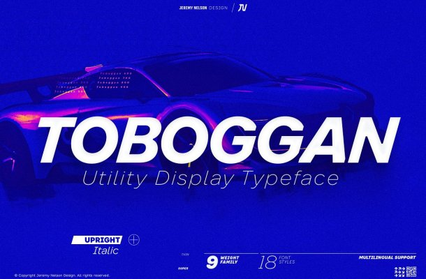 Toboggan-Font