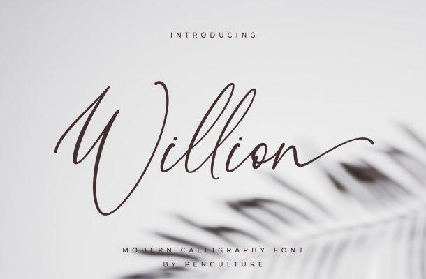 Willion-Font
