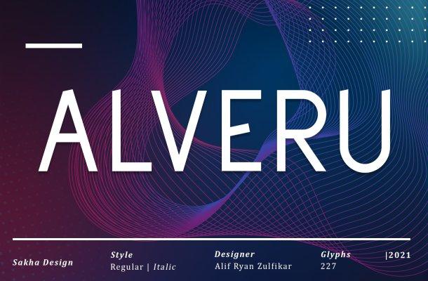 Alveru-Font