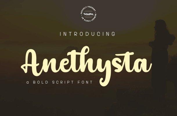 Anethysta Font