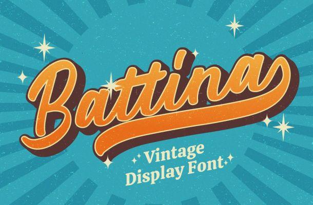 Battina-Font