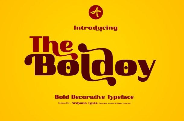 Boldoy-Font