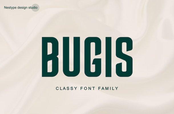 Bugis-Font
