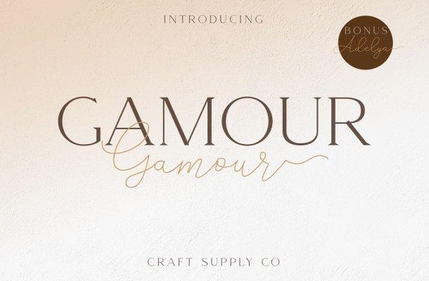 Gamour Font