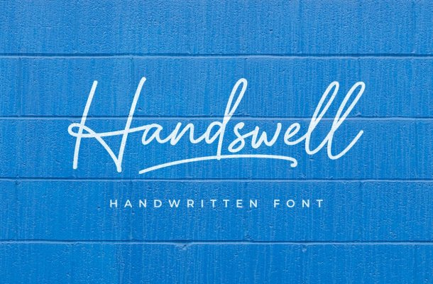 Handswell-Font