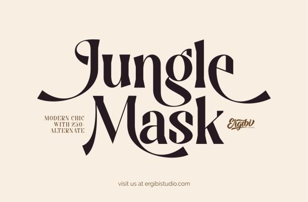 Jungle-Mask-Font